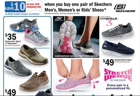 meijer skechers shoe promotion offer 10