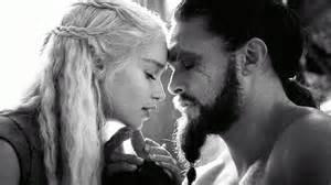 Khal drogo and daenerys targaryen image 2779129 by lauralai on
