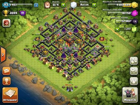 clash of clans th10 village layout clash of clans builder best town hall 10 layouts
