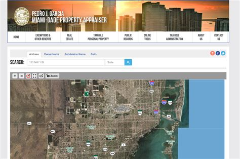 Miami Dade Property Appraiser Records Property Appraiser Website Wins Award Park Realty