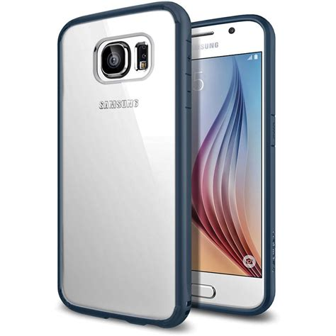 Sgp Ultra Hybrid For Samsung Galaxy S6 Oem Black 1 spigen ultra hybrid for samsung galaxy s6 sgp11458 b h