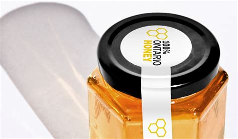 design your own honey label make custom ontario honey labels stickeryou products