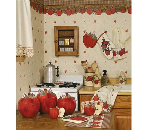 kitchen decorations ideas theme blonder home country apple kitchen decorating theme my