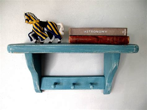 children s shelf and peg rail by seagirl and magpie