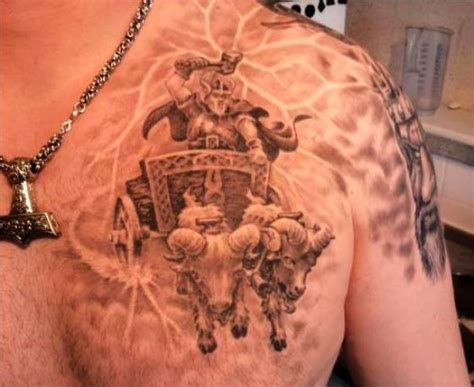 tattoo vikings in a chariot ideas tattoo designs