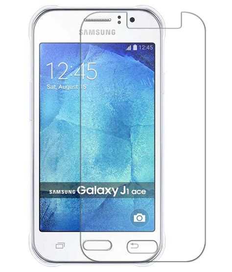 Premium Tempered Glass J1 Ace samsung galaxy j1 ace tempered glass screen guard by deltakart mobile screen guards at