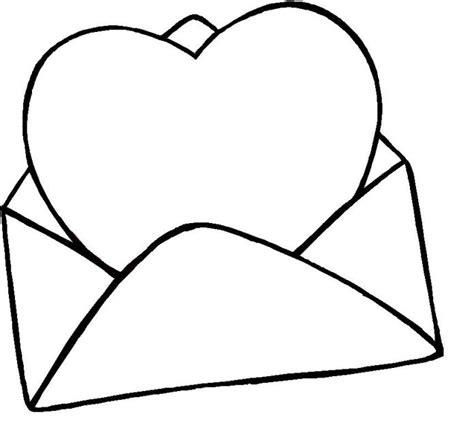 imagenes para pintar tamaño carta como desenhar carta de amor
