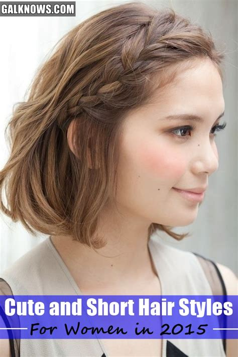 how to style hair that is shorter in the back than the front 101 cute and short hair styles for women in 2015