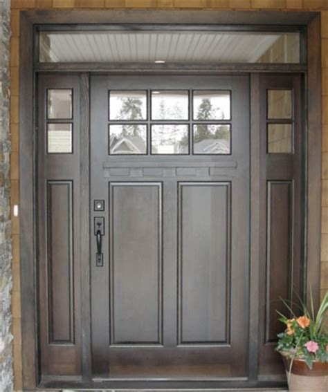 Mahogany Line Traditional Front Doors Vancouver By Traditional Exterior Doors