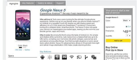 best buy nexus 5 unlocked nexus 5 availability t mobile sprint nexus 5