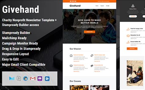 html email responsive template 34 awesome html email website template themes free
