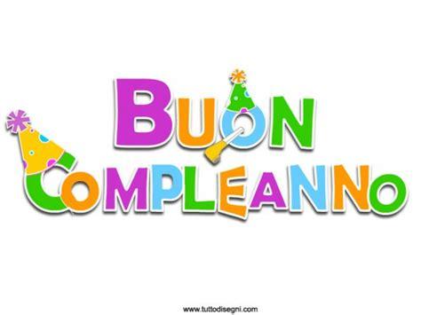 clipart buon compleanno scritta buon compleanno tuttodisegni