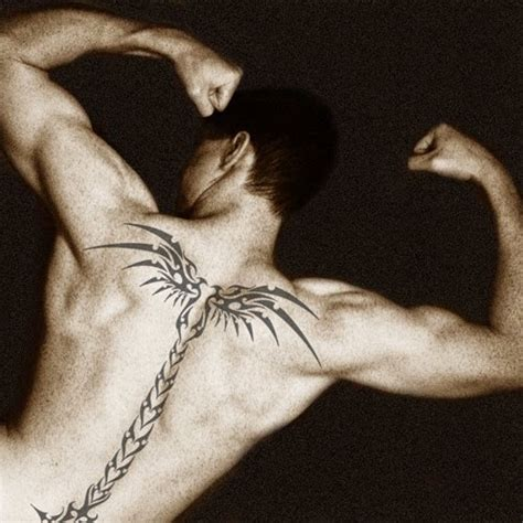 mens spine tattoos 50 best and awesome spine tattoos for and