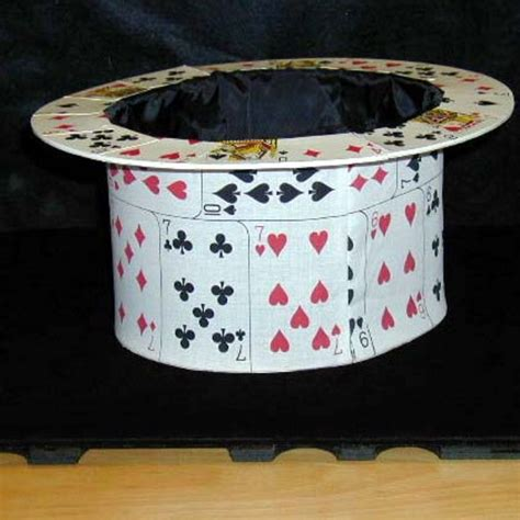 how to make a top hat from card card top hat by unknown martin s magic collection