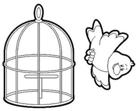 coloring pages of bird cages bird cage coloring pages sketch coloring page