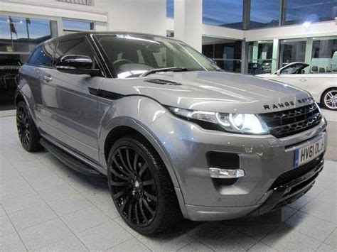 range rover sale used used grey land rover range 2011 petrol evoque 2 0 coupe in