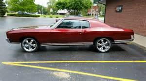 72 Chevrolet Monte Carlo 72 Monte Carlo Apple Coupe American Racing