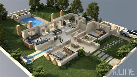 home design 3d pc mega luxury house 3d house plans floor plans pinterest