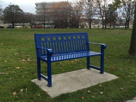 memorial park bench sudbury whose downtown is it sudbury working group