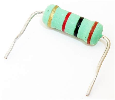 resistor 1k ohm colors 3w 1k ohm metal oxide resistor kamaya rsi3s 102j