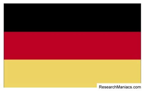 what does in german what does the country flag look like and represent