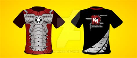 Kaos Ironman Disain Ironman 11 t shirt design ka10 ironman version by raxanimasi on