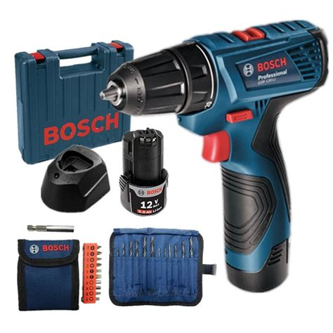 Original Bosch Gsr 120 Li Cordless Drill Bor Baterai 12v power tl driver products nilaibekal hardware