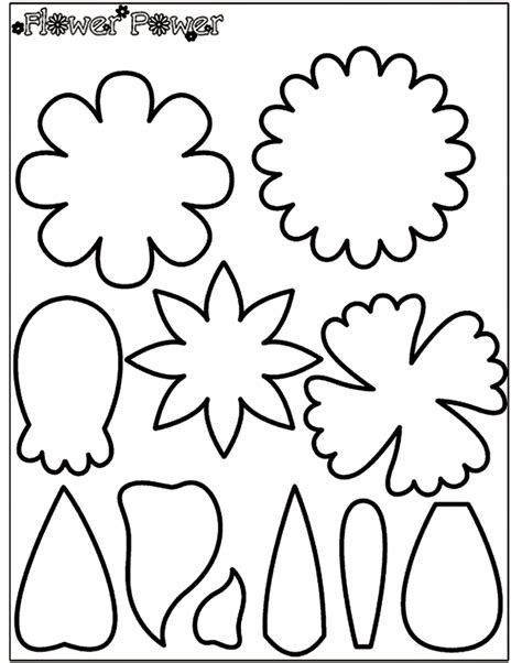 crayola coloring page pattern for felt creations large