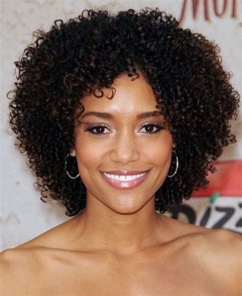 hairstyles for naturally curly african american hair short and curly natural hairstyles
