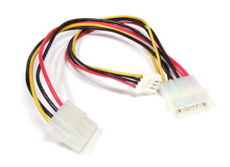Kabel 4 Pin Molex To 2x Fdd Power High Quality 4 pin molex hdd fdd floppy drive power y splitter cable kabel
