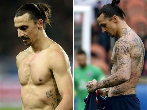 tattoo ibrahimovic psg psg s zlatan ibrahimovic says removable tattoos were for