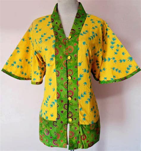 Baju Blouse Murah Trendy Jeselin Tunik design blouse kerja chevron blouse