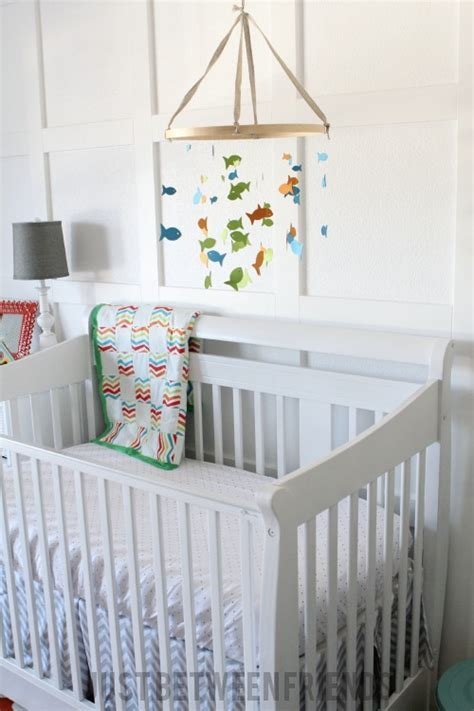Fish Mobile For Crib by Diy Hanging Mobile Nursery Diy Projects