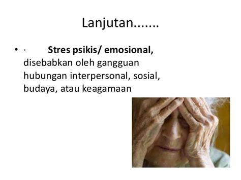 Salemba Empat Gangguan Gastrointestinal stress psikologi umum lansia