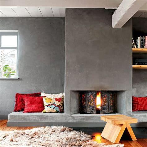 beton feuerstelle great concrete fireplace sonstige wohngestaltungsideen