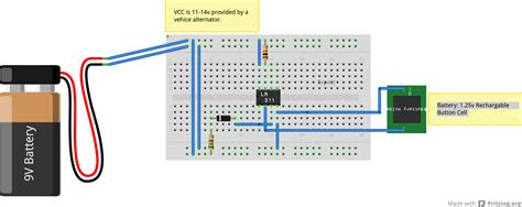 breadboard circuit symbol power supply lm311 circuit not working electrical engineering stack exchange