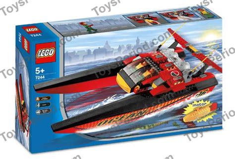 lego speed boat sets lego 7244 speedboat set parts inventory and instructions