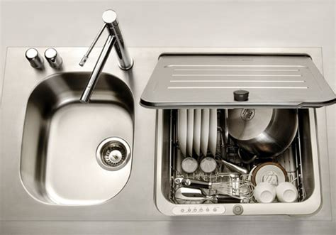 in sink dishwasher kitchen shoebox dwelling finding comfort style and