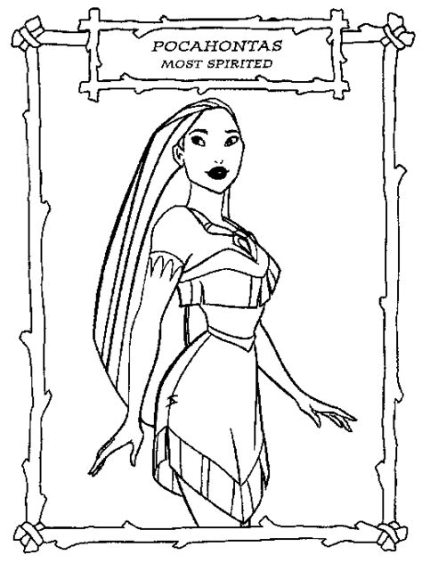 The Pocahontas Coloring Pages New Coloring Pages Disney Princess Coloring Pages Pocahontas Printable