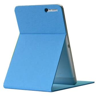 Leather Ainol Numy Ax 1 stand leather for ainol novo 7 numy ax1 baby blue