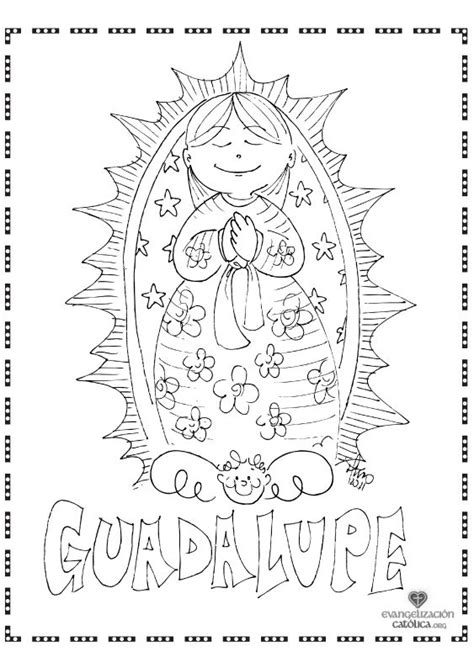 free coloring pages of our lady of fatima