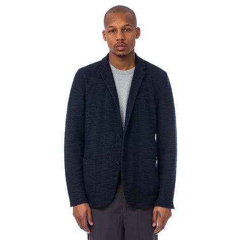 richard jacket robert geller richard jacket in black navy mix in black for lyst