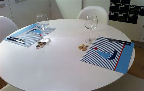 tavola originale una tavola originale con le tovagliette bond italia