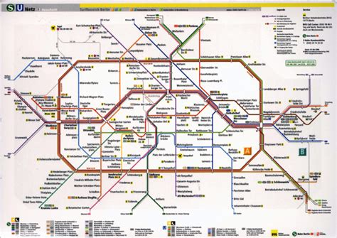 bahn map germany german s bahn
