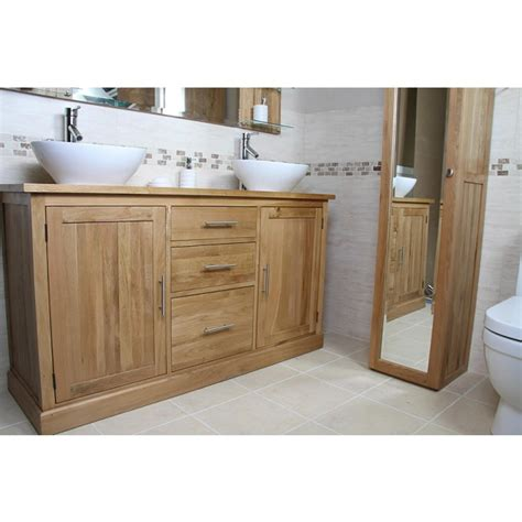 Large Bathroom Vanity Units by Atla Large Bathroom Vanity Unit Click Oak