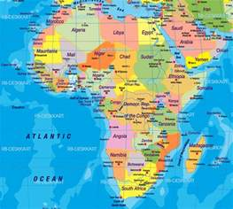 Maps Africa by Africa Map Wallpapers Wallpaper Cave
