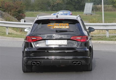 audi rs3 performance audi rs3 performance hatch test mule spied photos 1 of 7