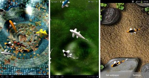 koi live wallpaper full version for android best paid live wallpapers for android tablets android