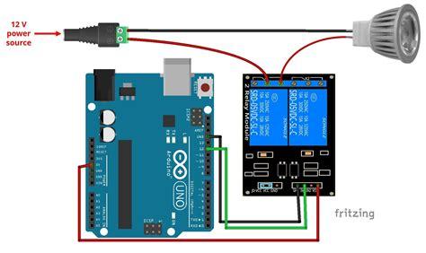 Access Relay Module by 12v L Via Sms With Arduino Random Tutorials