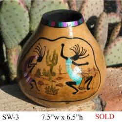 Southwestern Home Designs Southwest Gourd Gallery Welcome To Larilyn Gourd Art